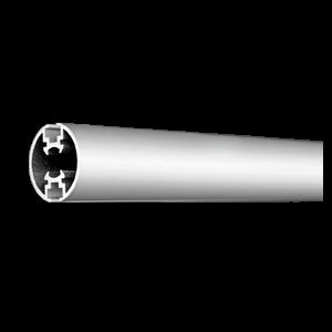 Alu-Abhängeprofil Ø 25mm, Länge 2000mm